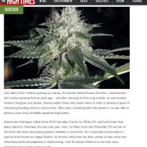 Karma Genetics Makes High Times Magazine's Seed Bank Hall of Fame!