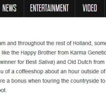 Karma Genetics Makes 2010 High Times Magazine Global Harvest Report!